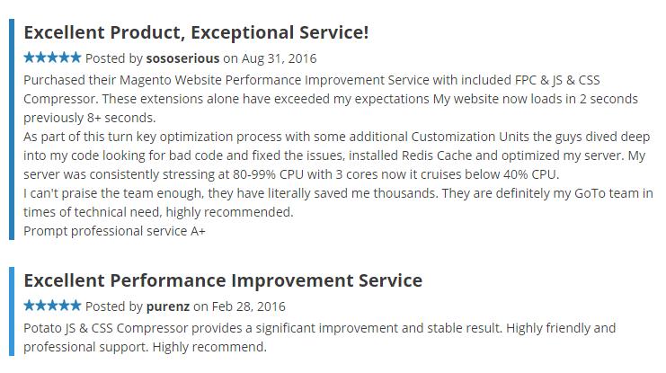 Trusted Service of Magento Performance Optimization