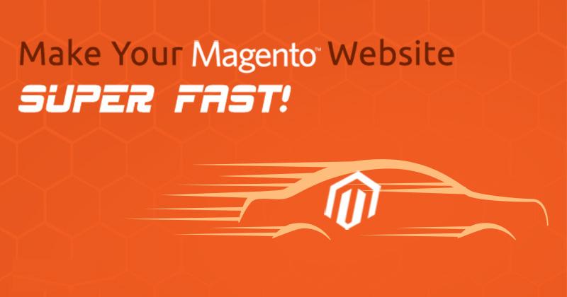 Super fast Magento website