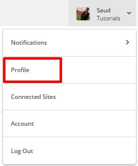 mailchimp profile settings