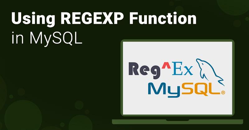 REGEXP in mysql
