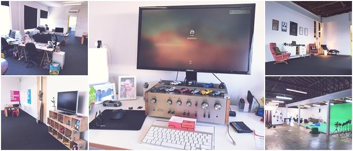 Tom Reidy Workspace