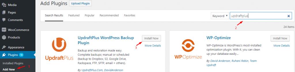 install-UpdraftPlus-WordPress-Backup-Plugin