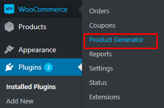 product generator