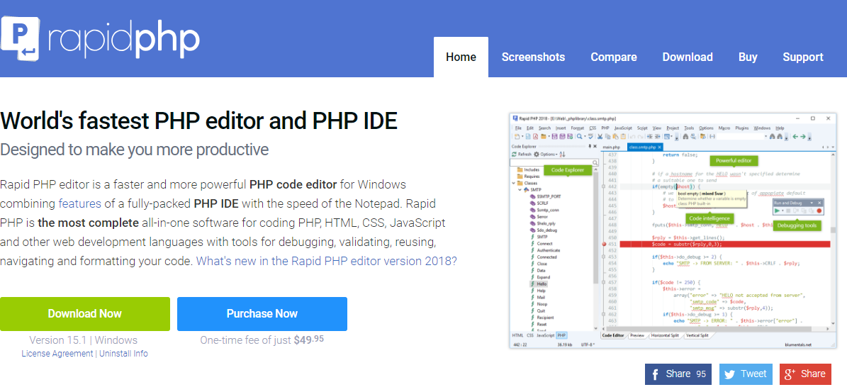 Top Code Editors and IDE for PHP Development of 2019
