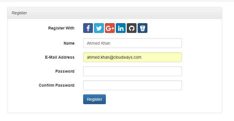 Easily Add Social Login to Laravel Based Projects