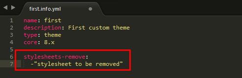 remove stylesheet