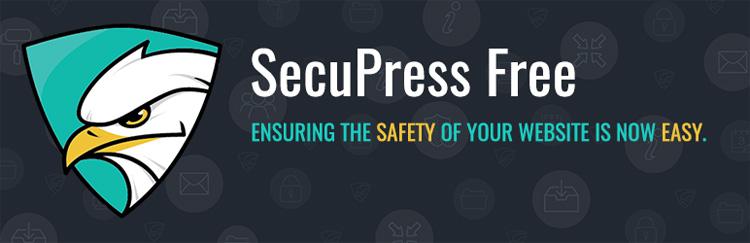 secupress wordpress plugin