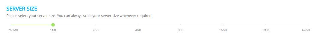 server size
