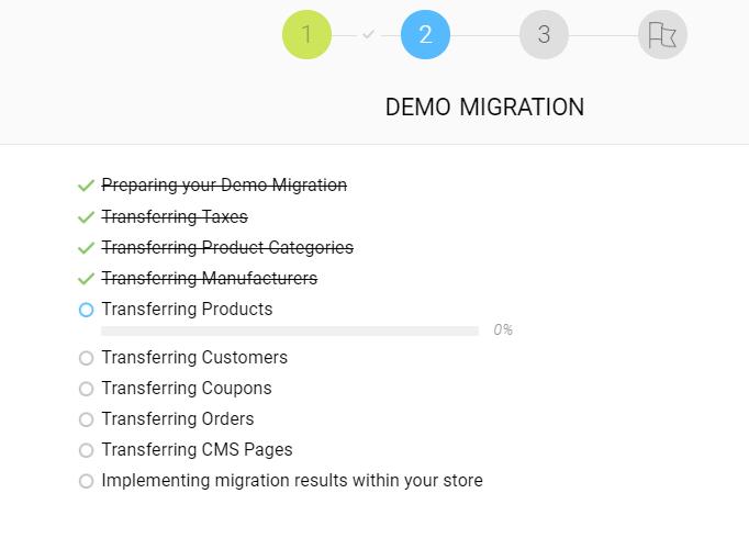 shopify magento migration process begins