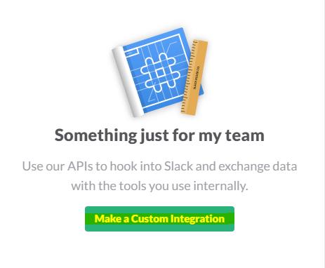 slack custom integration