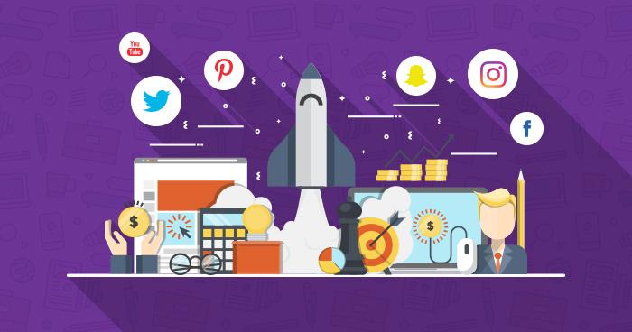 startup marketing using social media