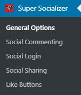 Activate Super Socializer Plugin