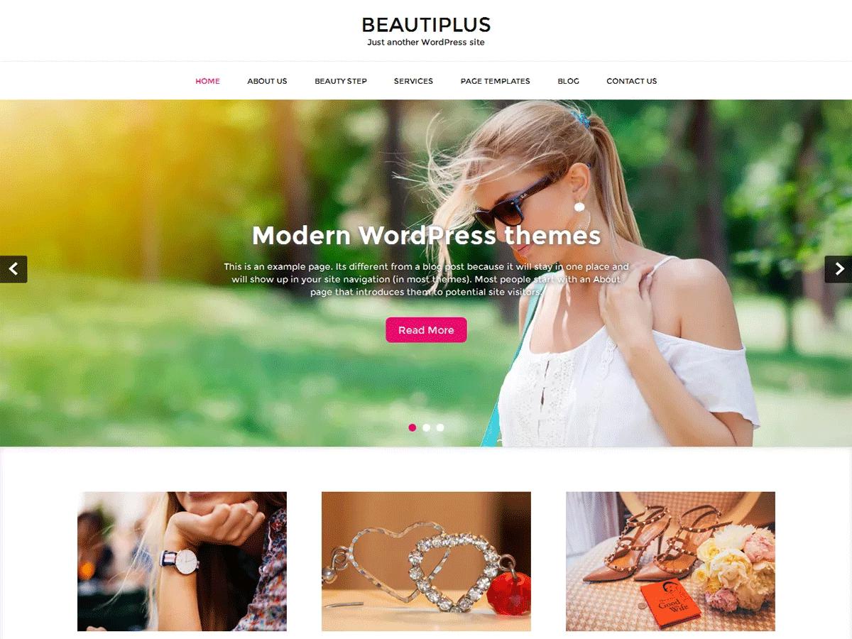 BEAUTIPLUS Free WooCommerce Theme