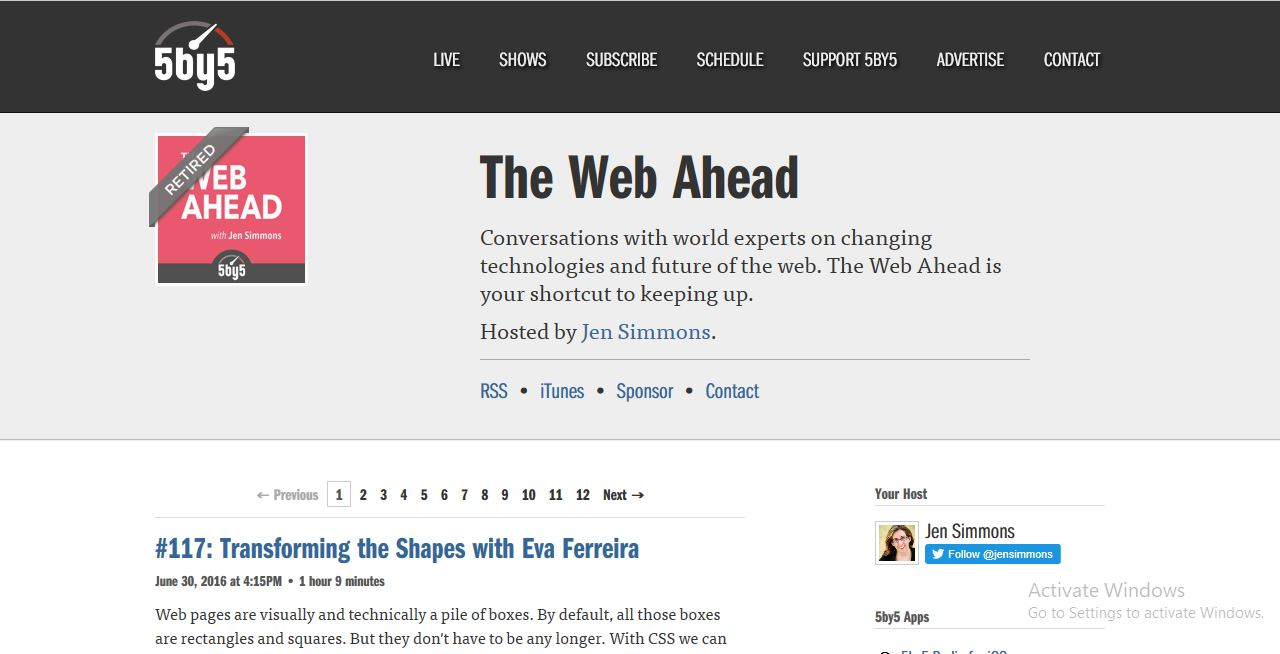 web ahead