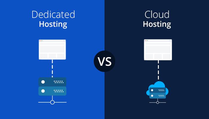 WordPress Dedicated Hosting vs Cloud Hosting