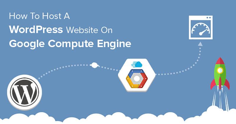host wordpress website on gce
