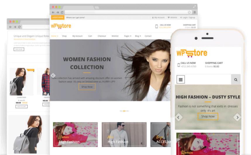 WP Store Free WooCommerce Theme