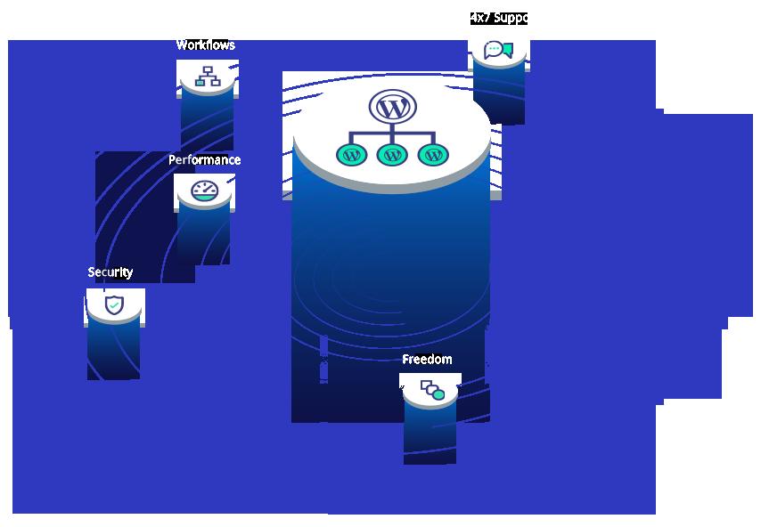 Wordpress Multisite hosting