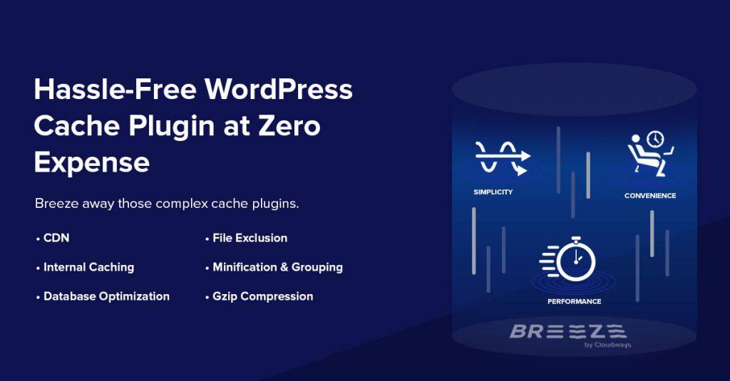 Breeze - Free WordPress Cache Plugin by Cloudways