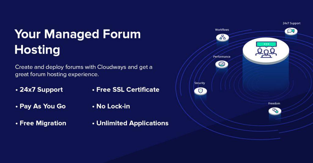 Forum Hosting with FREE phpBB, vBulletin installation