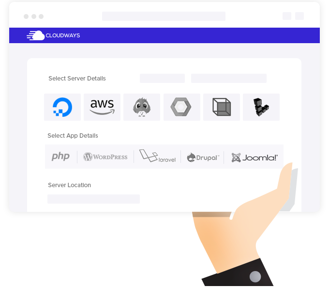 Select digitalocean