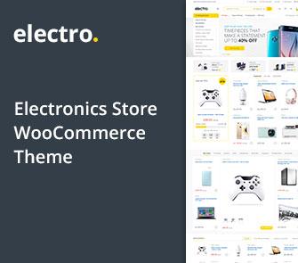 electro wordpress theme