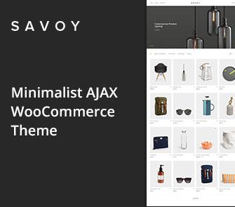 savoy wordpress theme
