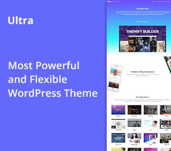 ultra Corporate Business WordPress Theme