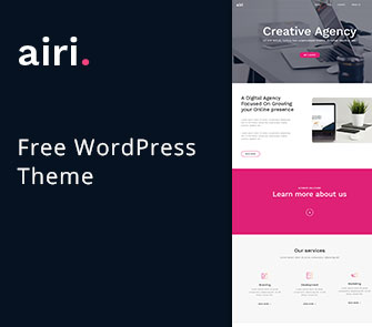 airi wordpress theme for corporate law business websites