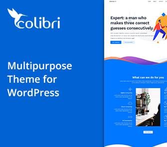 colibri wordpress theme