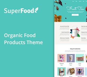superfood wordpress theme