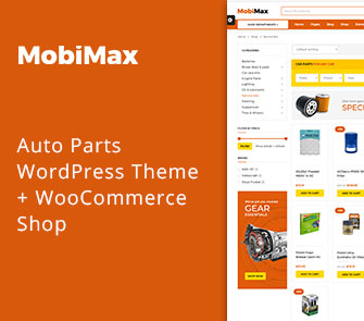 mobimax WordPress WooCommerce shop theme