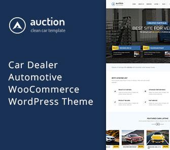 Auction WooCommerce Theme
