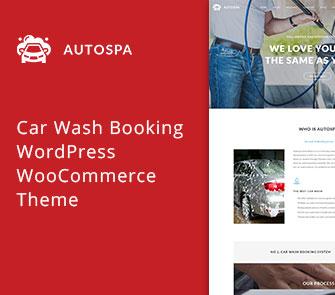Auto Spa WooCommerce Theme