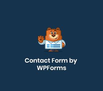 contact form by wpforms wordpress plugin