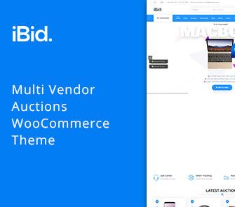 iBid automative WooCommerce Theme
