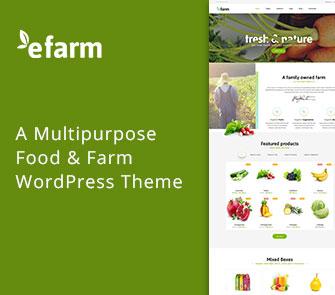 efarm wordpress theme