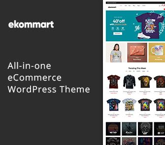 ekommart wordpress theme