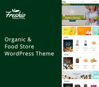 freshio wordpress theme